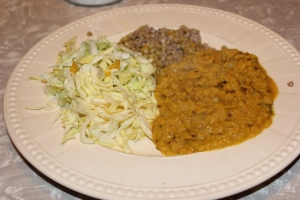 I still enjoyed dahl and buckwheat every time I had it.