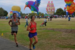 5k at Parkrun. After doing 74, 5k is fun but lung-busting.